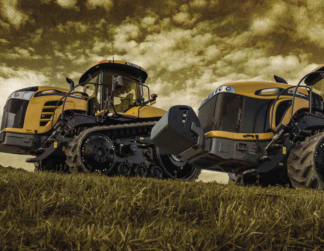 Challenger Tractors - Mcintosh & Son
